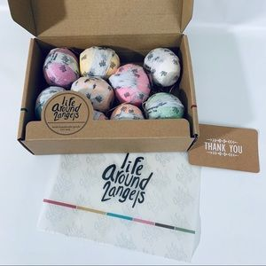 Life Around 2angels Bath Bombs 9 included NWT